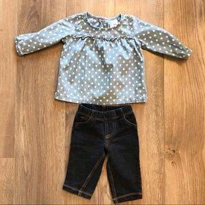 Girls 6M outfit